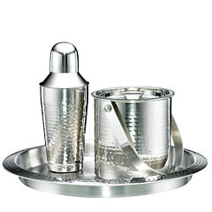 Cambridge® Hammered Stainless Steel 3-pc. Barware Set