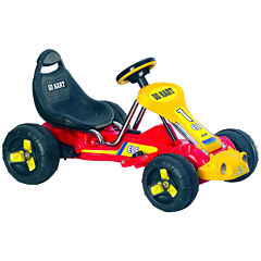 Lil' Rider Red Racer Ride-On Battery-Powered Go-Kart