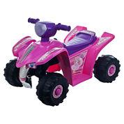 Lil' Rider Pink Princess Mini-Quad Ride-On 4-Wheeler