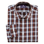 Stafford® Travel Easy-Care Broadcloth Dress Shirt - Big & Tall