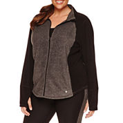 Xersion Fleece Jacket-Plus