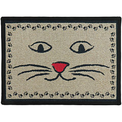 PB Paws by Park B. Smith® Kitty Whiskers Tapestry Pet Mat