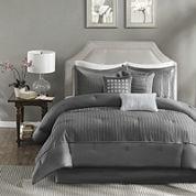 Madison Park Curtis Pleated 7-pc. Comforter Set