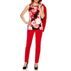 Worthington® One-Button Jacket, Embellished Blouse, or Slim-Fit Pants - Petite