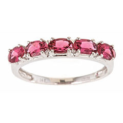 LIMITED QUANTITIES! Pink Tourmaline 14K Gold Band