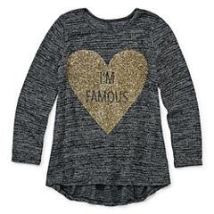 Total Girl Long Sleeve T-Shirt-Preschool Girls