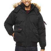 Canada Weather  Gear Heavey Weight Fur Trimmed Bomber