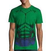 Hulk Short Sleeve Crew Neck T-Shirt