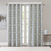 Madison Park Maren Grommet-Top Curtain Panel Blackout Grommet-Top Curtain Panel