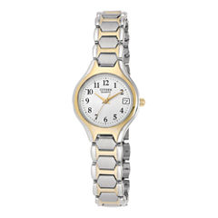 Citizen® Womens Two-Tone Stainless Steel Bracelet Watch EU2254-51A