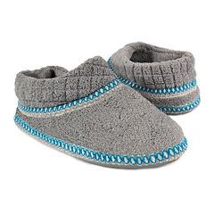 MUK LUKS® Rita Micro Chenille Bootie Slippers
