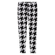 Total Girl Hearts Knit Leggings - Big Kid