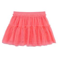 Okie Dokie Woven Full Skirt - Preschool Girls