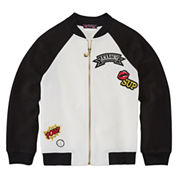 TEMPTED GIRLS PATCH ZIP JACKET
