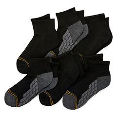 GoldToe 6-pk. Ultra Tec Quarter Socks- Boys
