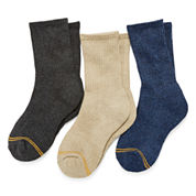 GoldToe 3-pk. Crew Socks- Boys