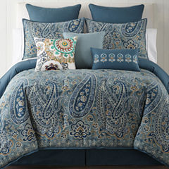 JCPenney Home Belcourt 4-pc. Comforter Set & Accessories