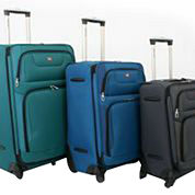 SwissGear® Expandable Spinner Upright Luggage Collection