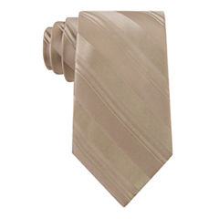 Stafford Open Stripe Solid Tie
