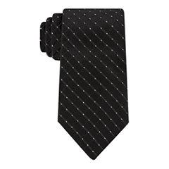 Stafford Glitter Dot Grid XL Tie