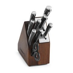 Calphalon Precision 10-pc. Space-Saving Self-Sharpening Cutlery Set