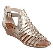 a.n.a® Grayson Gladiator Wedge Sandals