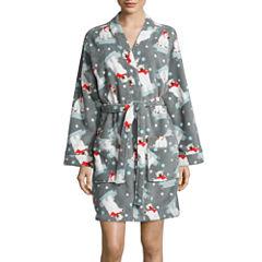 Pj Couture Long Sleeve Wrap Robe-Juniors