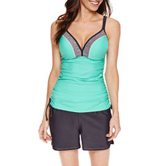 Free Country ® Adjustable Tankini or Draw String Swim Shorts