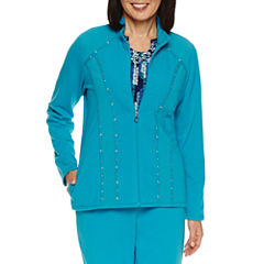 Alfred Dunner Adirondack Trail Fleece Jacket