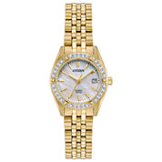 Citizen Womens Silver Tone Bracelet Watch-Eu6062-50d