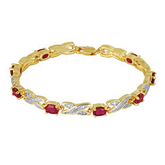 Sparkle Allure Ruby Tennis Bracelet