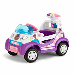 KidTrax Doc McStuffins Toy Ambulance 6V Electric Ride-on