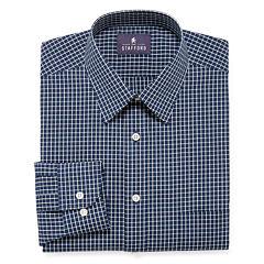 Stafford® Long-Sleeve Travel Performance Dress Shirt