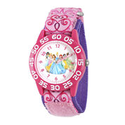 Disney® Princess Girls Pink Strap Watch
