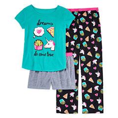 Total Girl Kids Pajama Set Girls