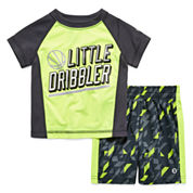 Xersion Boys 2-pc. Short Sleeve Short Set