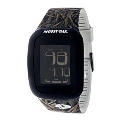 Mossy Oak® Mens Green/Brown Sport Watch
