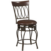 Oval-Back Barstool