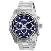 Invicta Mens Silver Tone Bracelet Watch-21795