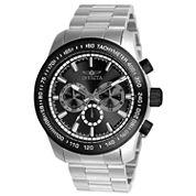 Invicta Mens Silver Tone Bracelet Watch-21796