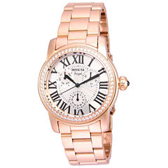 Invicta Womens Gold Tone Bracelet Watch-21706