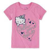Hello Kitty Girls Hello Kitty Graphic T-Shirt-Preschool