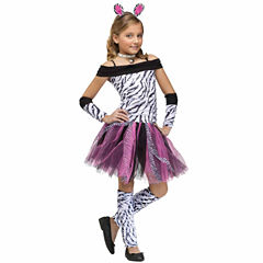 Zebra Child Costume - Small (4-6)