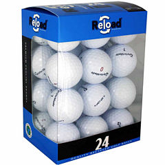 24 Pack of Taylormade Recycled Golf Balls.