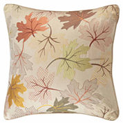 Madison Park Fallen Leaves Square Throw Pillow