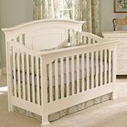 Muniré Furniture Medford Convertible Crib - White