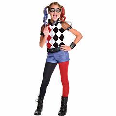 DC Superhero Girls: Harley Quinn Deluxe Child Costume S