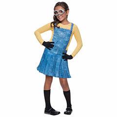 Minions Movies: Female Minion Kids Costume - Small(4-6)