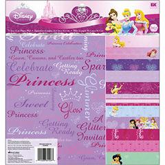 Disney Paper Pad Scrapbook Kit - Princesses