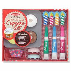 Melissa & Doug® Cupcake Play Food Set